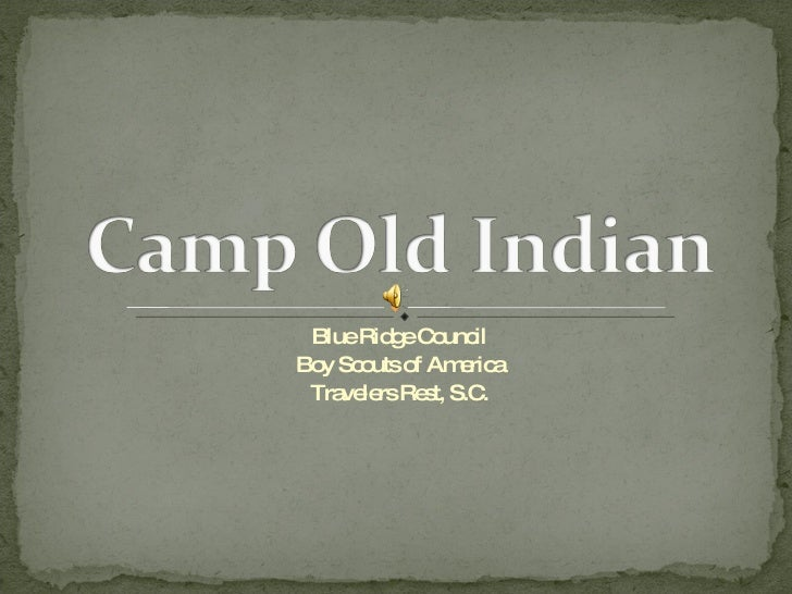Brc Camp Old Indian