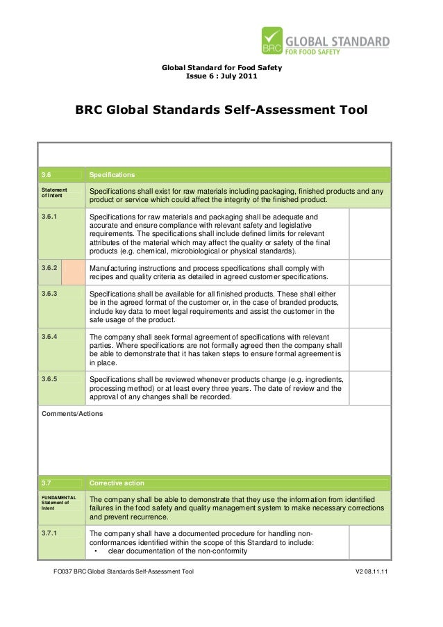 Food safety risk assessment template pictures to pin on for Food safety risk assessment template