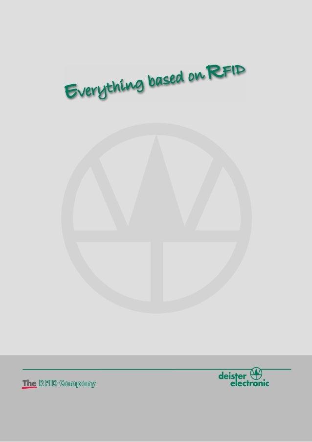 Willkommen bei deister electronic deister electronic gehört zu den weltweit führenden Anbietern von innovativen RFID-Produ...
