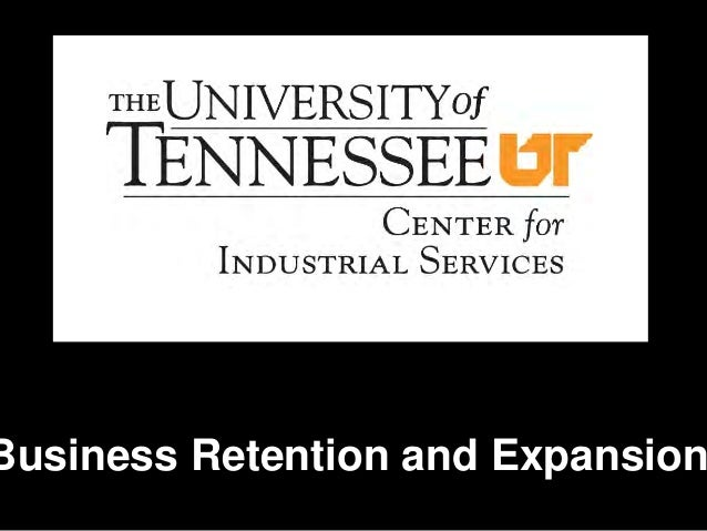 TN Business Retention & Expansion Course 2013 Day 1 Presentation