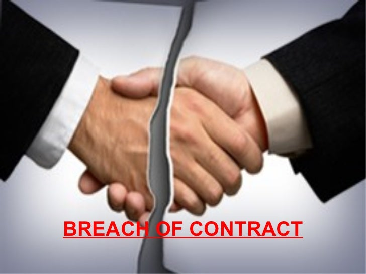 breach of contract A notification of breach letter of contract notifies the counterparty to a contract of that counterparty's breach visit priori legal for more information.