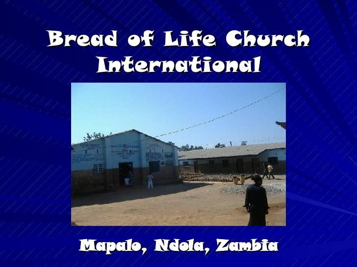 Bread of Life - Mapalo