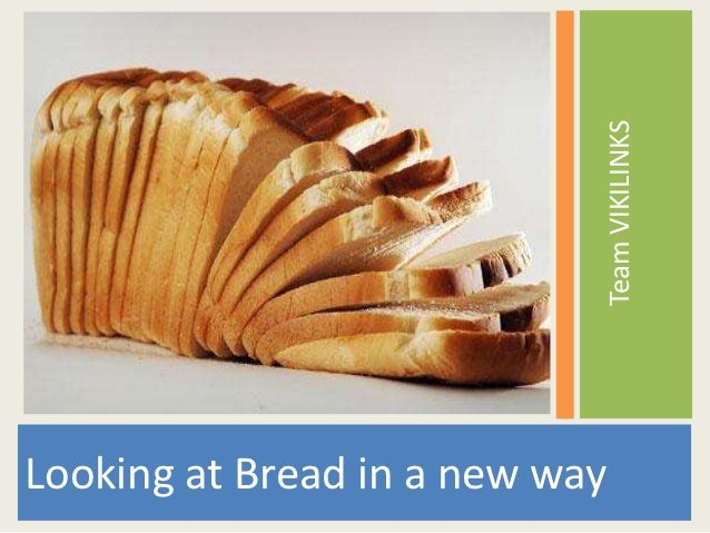 Bread for your thought