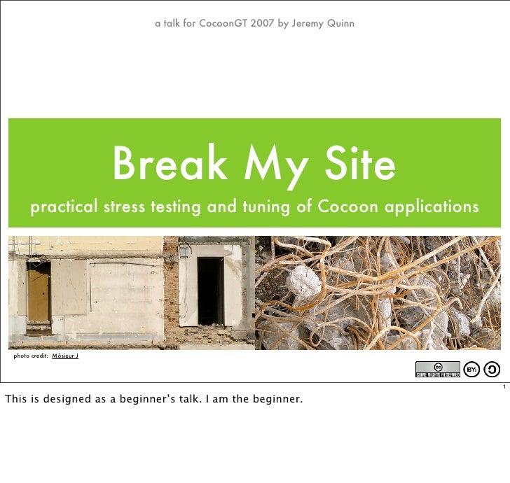 Break My Site
