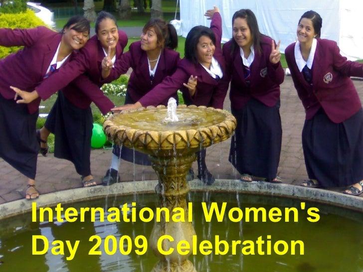 International Women's Day 2009 Celebration