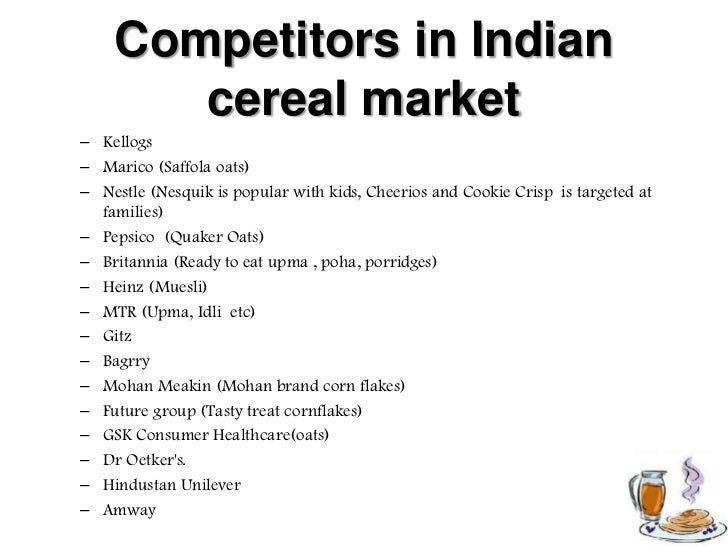 The ready to eat breakfast cereal industry in 1994 essay