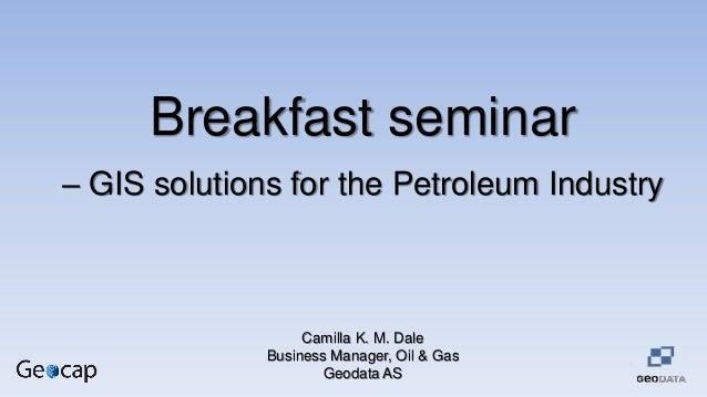 Petroleum seminar 28.05.2014