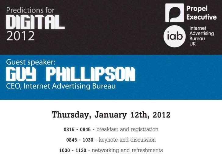 Propel Executive - Predictions for Digital 2012
