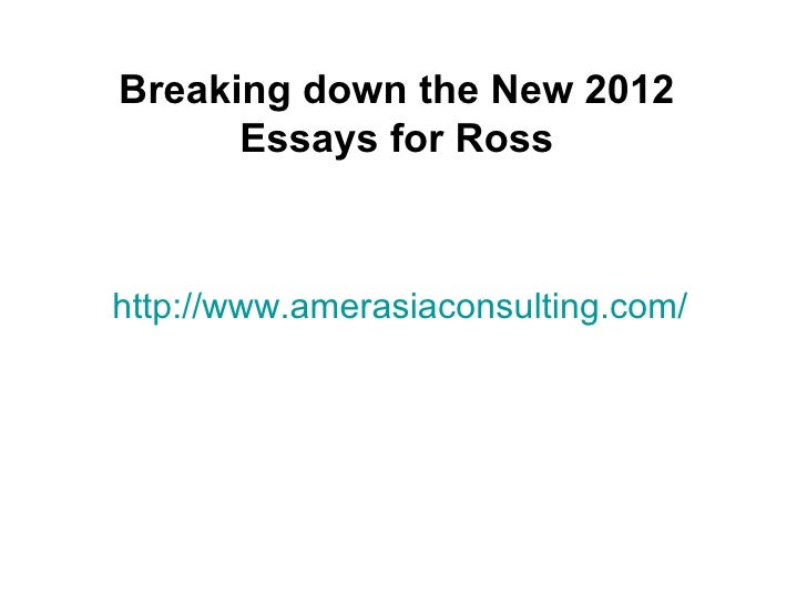 Breaking down the New 2012      Essays for Rosshttp://www.amerasiaconsulting.com/