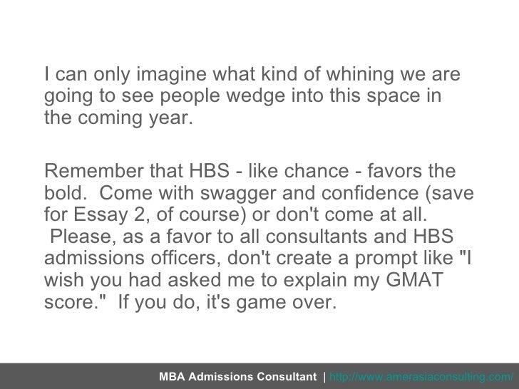 hbs essay word limits
