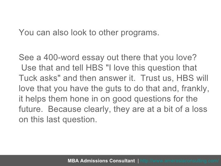 Hbs 2014 essay analysis - Hbs essay analysis advertisements