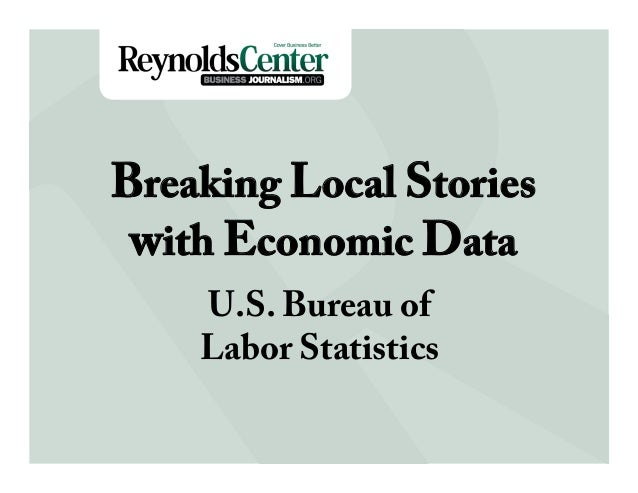 Breaking Local Stories with BLS Data by Paul Overberg