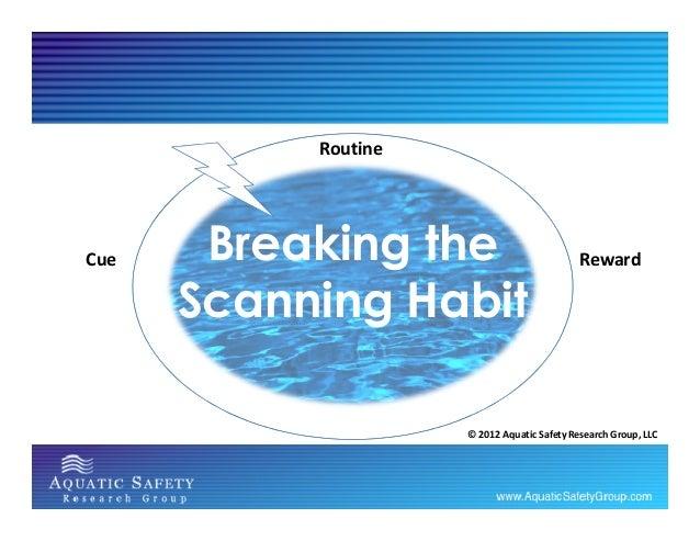 Breaking the Scanning Habit