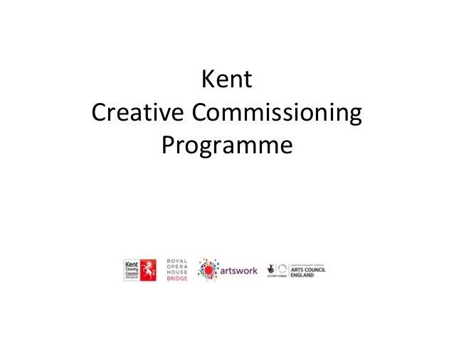 Kent Creative Commissioning Programme