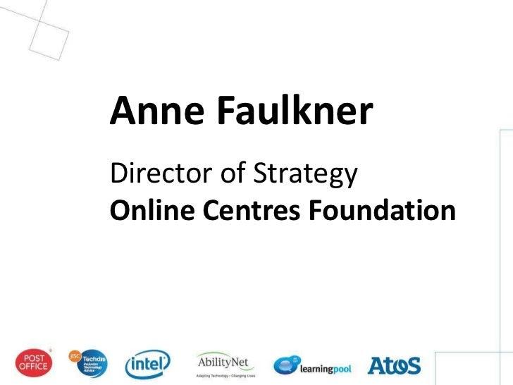 Breakout 2   assisted digital services - anne faulkner
