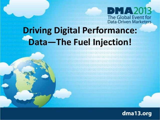Driving Digital Performance: Data—The Fuel Injection!