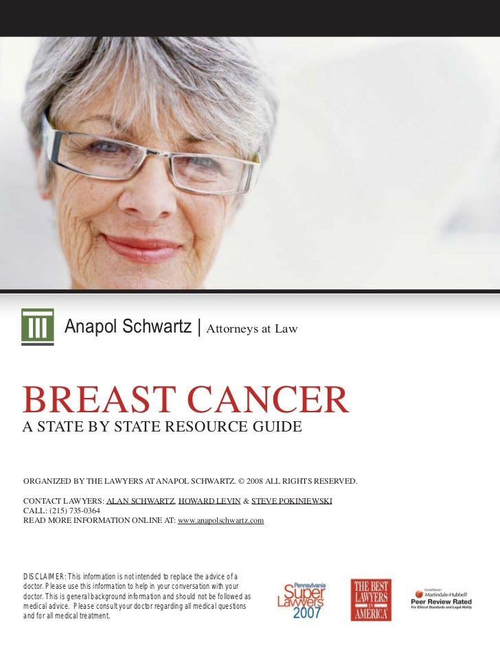 Breast Cancer Resouce List - State by State