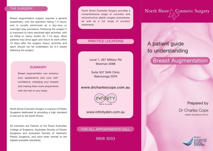 THE SURGERY                                              North Shore Cosmetic Surgery provides a                          ...