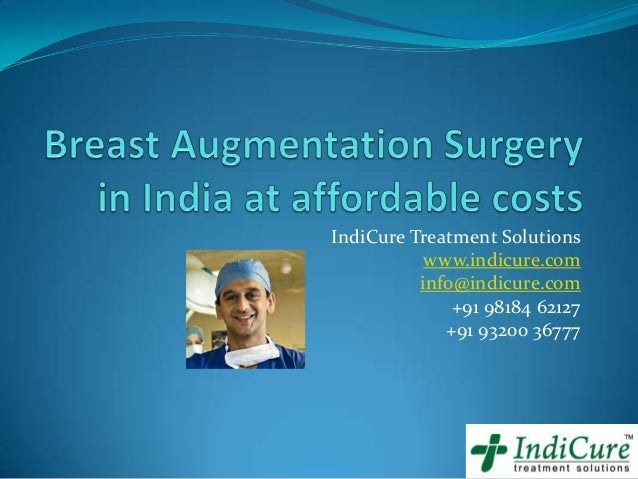 Breast augmentation surgery in India at affordable costs