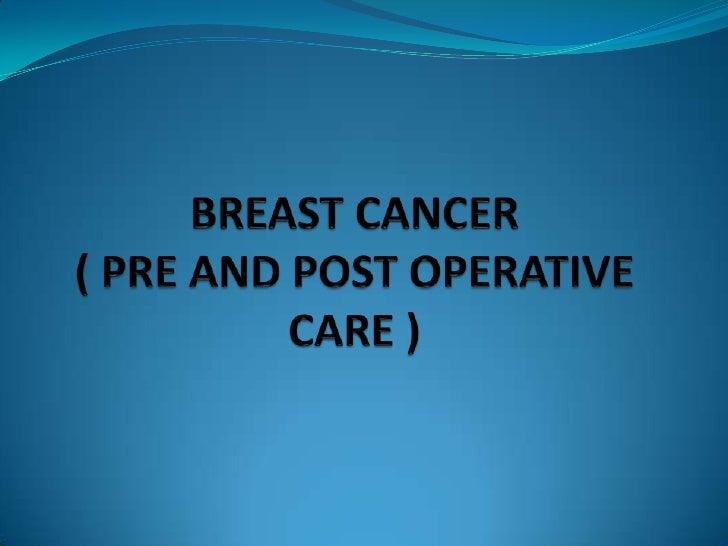  Breast cancer are common conditions that primarilyaffect women. When a women discovers a breast lump, her firstresponse...