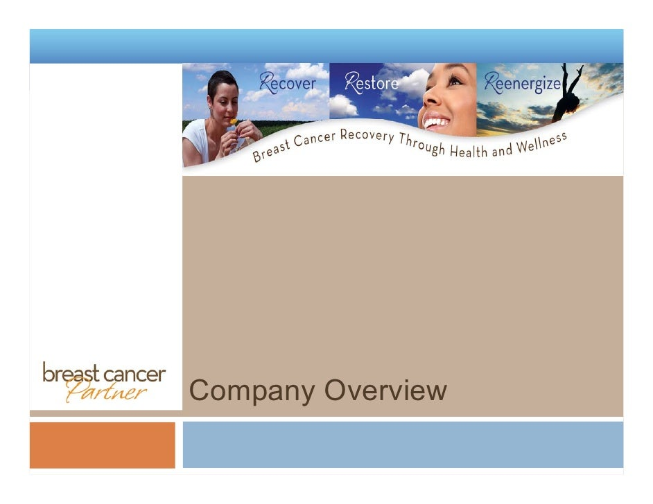 Breast Cancer Partner Company Overview V1.2