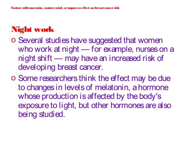 essay breast cancer factors Breast cancer: risk factors the cause of death most likely to be listed on their death certificates is breast cancer breast tumors essay about breast cancer.