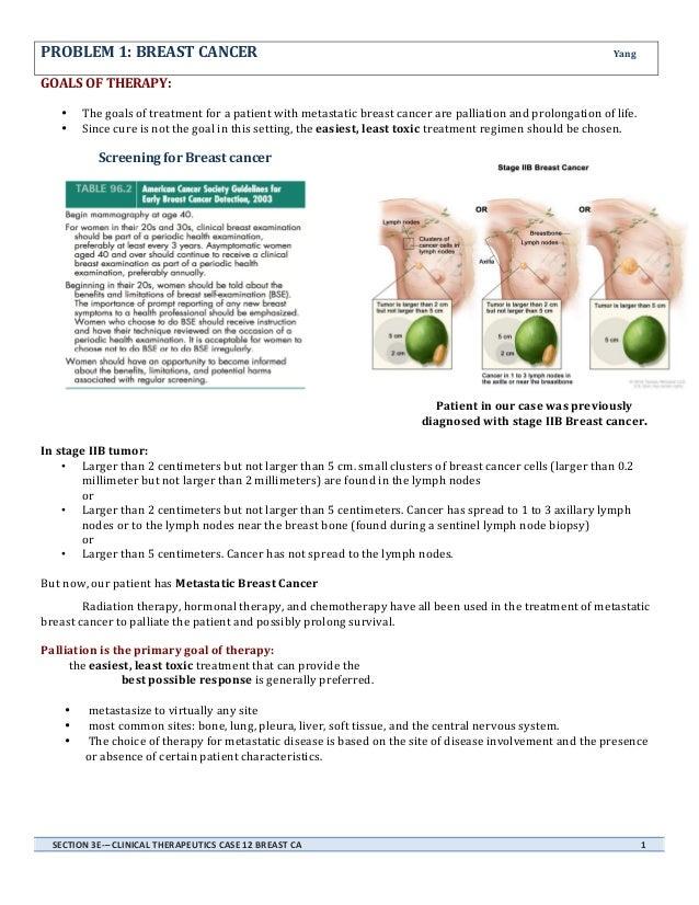 Breast cancer written report