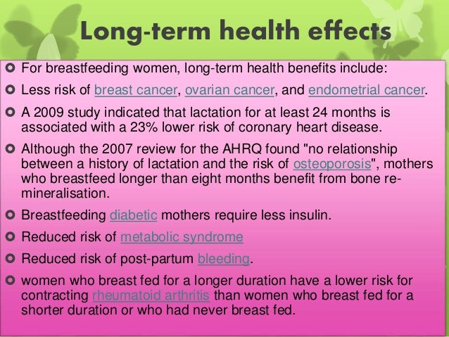 benefits of breast feeding essay example
