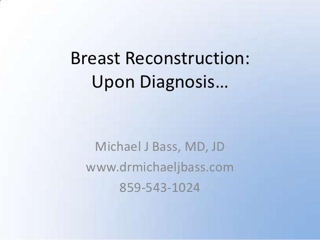 Breast Reconstruction Information