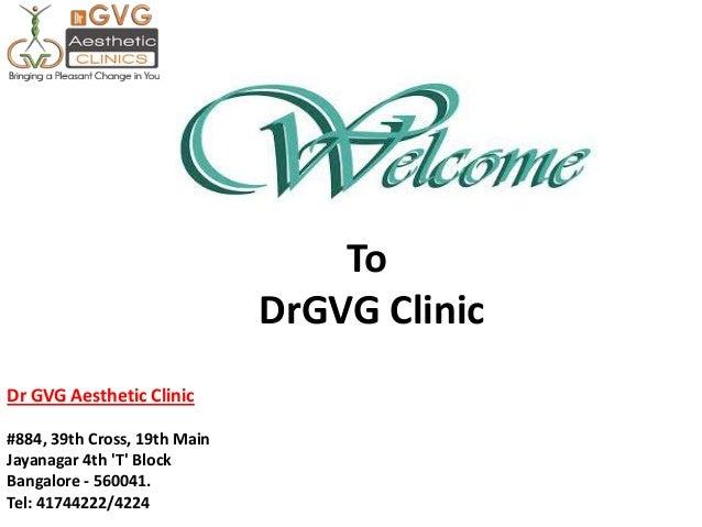 Liposuction clinic Bangalore : DRGVG