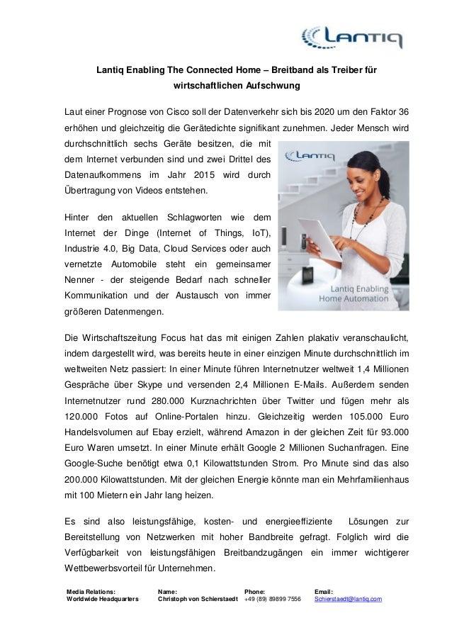 Media Relations: Worldwide Headquarters Name: Christoph von Schierstaedt Phone: +49 (89) 89899 7556 Email: Schierstaedt@la...