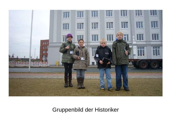 Gruppenbild der Historiker