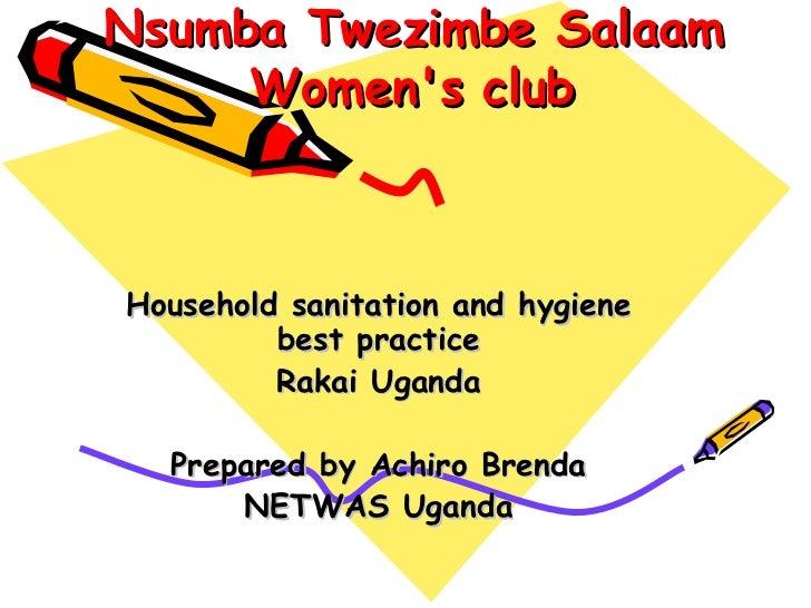 Nsumba Twezimbe Salaam Women's Club - Uganda
