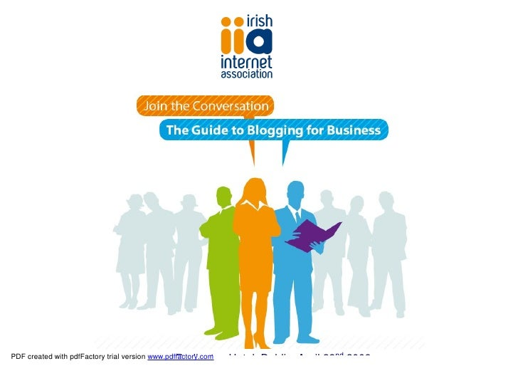 The Guide to Business Blogging in Ireland - Introduction