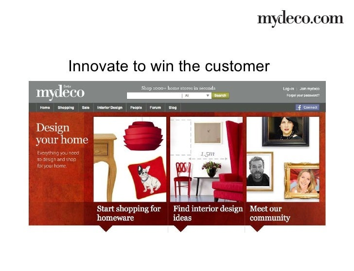 Innovate to win the customer