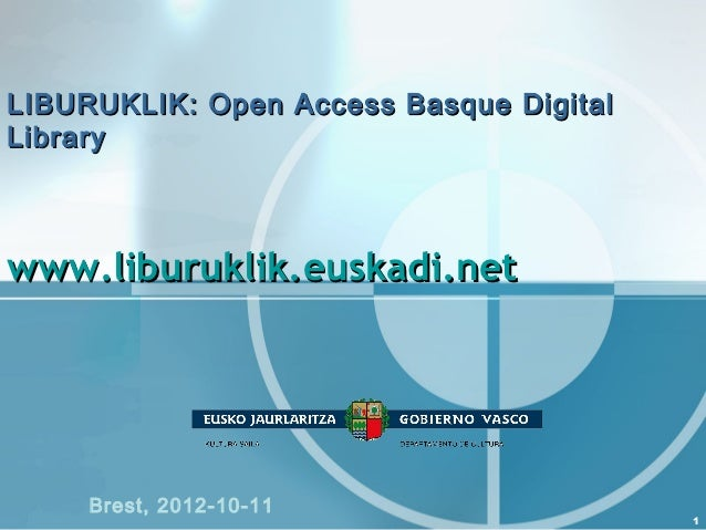 LIBURUKLIK: Open Access Basque Digital Library