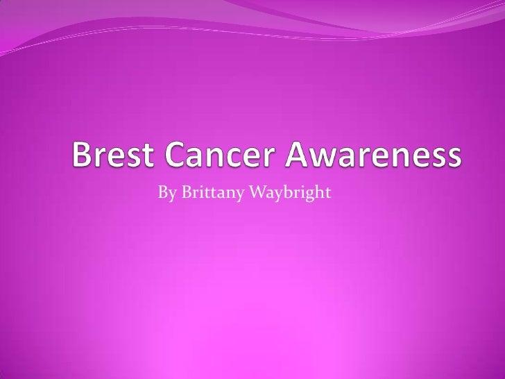 Brest cancer awareness
