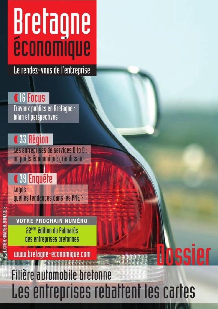 Bretagne Economique N°203 octobre-novembre 2010