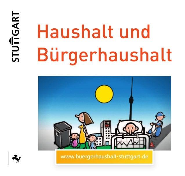 Haushalt undBürgerhaushalt  www.buergerhaushalt-stuttgart.de