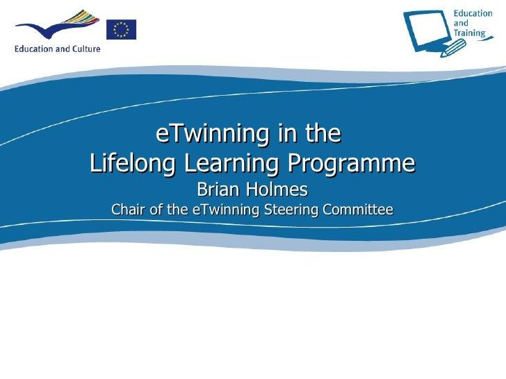 Brian Holmes - eTwinning