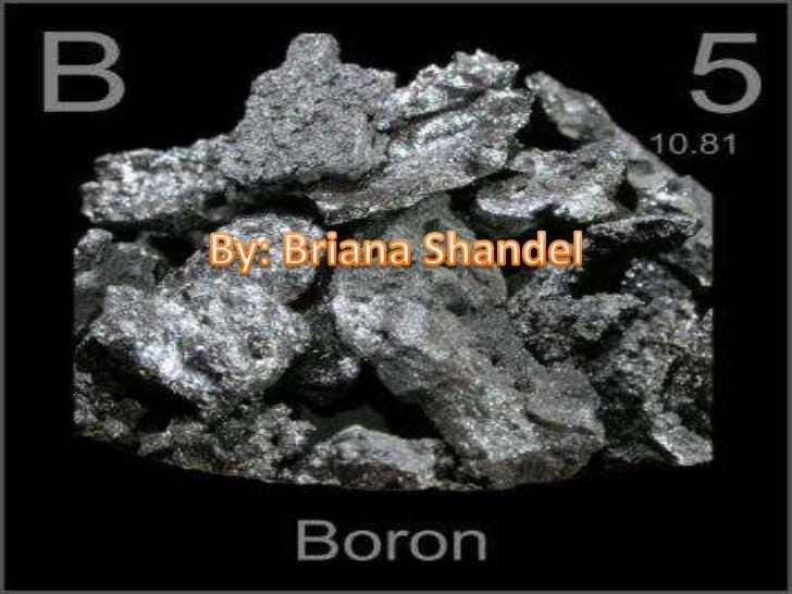 Boron (Briana Shandel)
