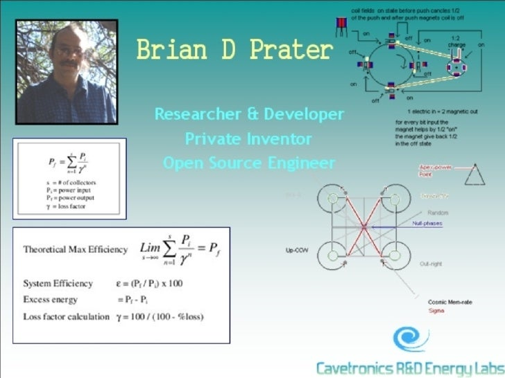 Brian D Prater Pictorial Resume