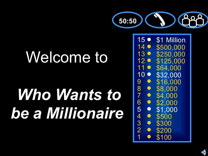 Briannas's  who wants to be millioinaire