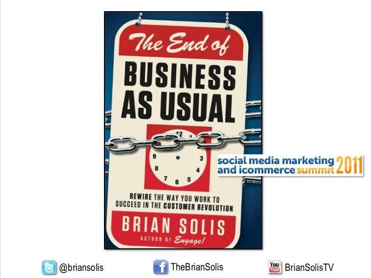 Brian Solis Engage or Die!