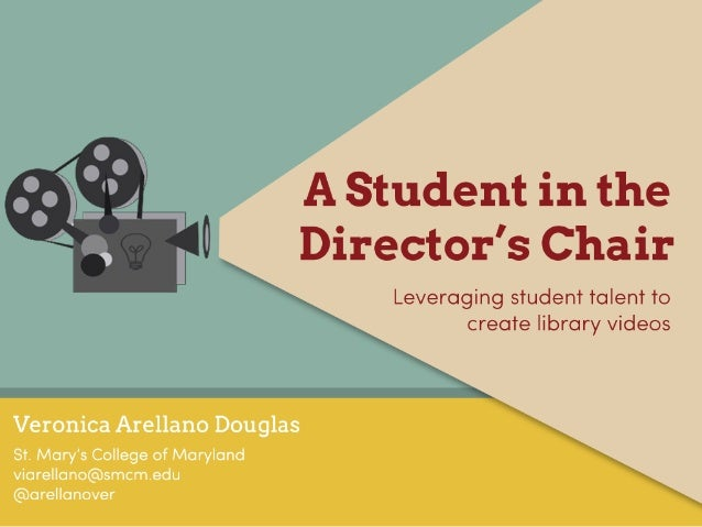 Students in the Director's Chair: Leveraging Student Talent to Create Library Videos