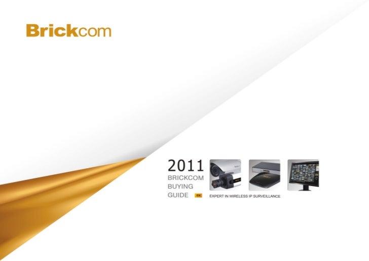 Brickcom Product Book 2011 0527