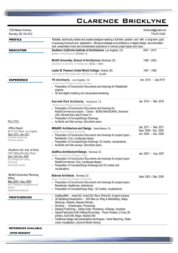 Perfect Cv In Usa Idea Resume Usa