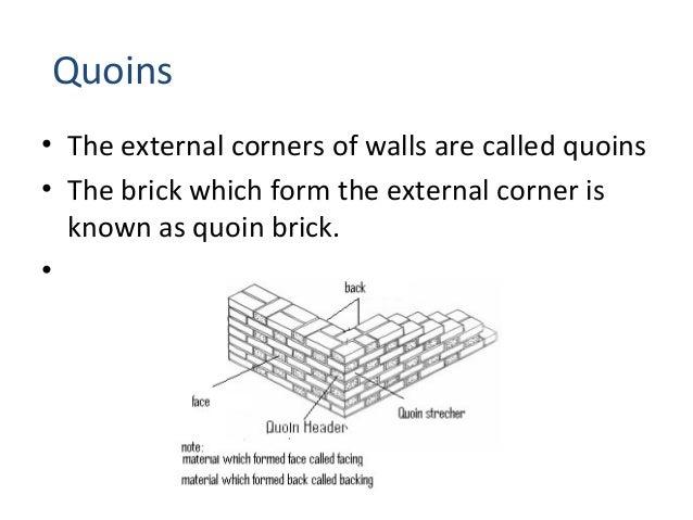 Brick masonary for Brick quoin detail