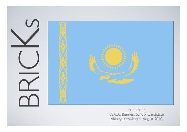 BRICKs Kazakhstan