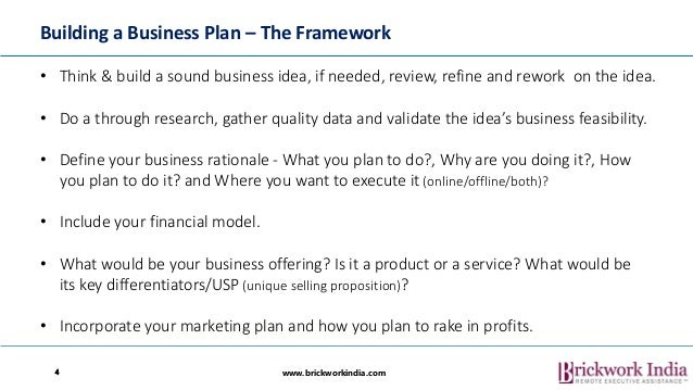 How to develop business plan